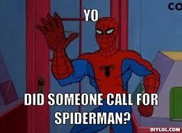 Spiderman Desk Meme Gen by Batman Meet Iron Man