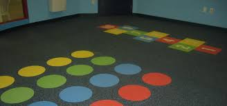 Dinoflex Recycled Rubber Flooring