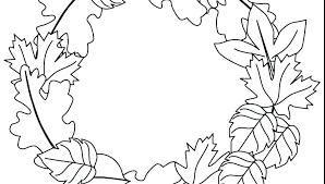 Leaf Printable Coloring Pages Free Colouring Fall