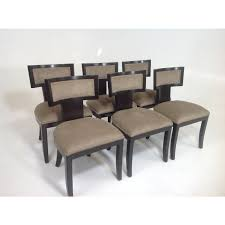 Modern Mid Century Style Klismos Upholstered Dining Chairs, Set Of 6 Appealing Modern White Ding Chairs Home Furnishings Kit Modern Upholstered Ding Chairs With Arms Crazymbaclub Mid Century Upholstered Chair Avalonitnet Audrey Dark Grey Details About New Set Of 2 Elegant Design Fabric Accent L848 China Colorful Coffee Table Gold Wedding Garden Outstanding Small Room With Rectangle Modrest Legend Black Danish Teak Rope Cord Post Concorde By Torstein Flaty Norway 1980s Of 4 For Walmartcom