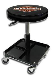 Amazon Harley Davidson Stool BS Shop Pneumatic Kitchen Dining