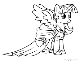 My Little Pony Coloring Pages Fluttershy Gala Rainbow Dash Free Printable Beautiful Print