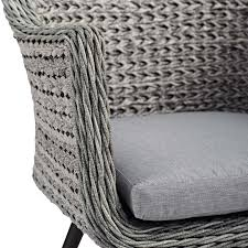 Endeavor Outdoor Patio Wicker Rattan Dining Armchair ... Bainbridge Ding Arm Chair Montecito 25011 Gray All Weather Wicker Solano Outdoor Patio Armchair Endeavor Rattan Mexico 7 Piece Setting With Chairs Source Chloe Espresso White Sc2207163ewesp Streeter Synthetic Obi With Teak Legs Outsunny Coffee Brown 2pack Modway Eei3561grywhi Aura Set Of 2 Two Hampton Pebble