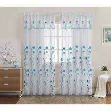 Lace Priscilla Curtains With Attached Valance by Shower Curtain With Attached Valance
