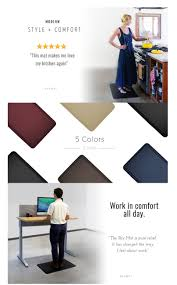 Standing Desk Floor Mat Amazon by Amazon Com Sky Mat Comfort Anti Fatigue Mat 20 X 39 X 3 4