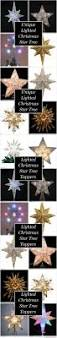 Kohls Christmas Tree Toppers by Lighted Christmas Star Tree Toppers Star Tree Topper Tree