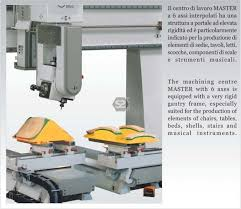 bacci master 2600 6 axis cnc router for furniture at scott