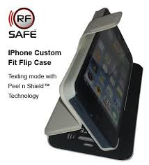 Apple iPhone 4s Flip Cover Case – RF Radio Frequency Safe