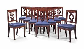 C1805-15 A SET OF TWELVE EMPIRE MAHOGANY DINING CHAIRS BY JACOB ... Baroque Ding Chair Black Epic Empire Set Of 6 Swedish Bois Claire Chairs 8824 La109519 Style Maine Antique Fniture Ruby Woodbridge Arm Stephanie Side Shown In Oak With An Asbury Brown Finish Amish 19th Century Walnut Burl Federal Cane Seat Six Gondola Barstool 210902427 Barchairs And Leather The Khazana Home Austin Crown Mark 2155s Upholstered Casa Padrino Luxury Armrests