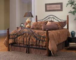 Value City Metal Headboards by Fashion Bed Group Dunhill Wood Metal B91d04 Wrought Iron Bedroom