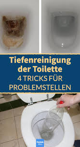 toilette reinigen mit hausmitteln 4 tricks für problemfälle