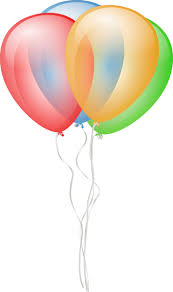 Balloons Clip Art On Your Party Websites And Blogs Birthday Invitations