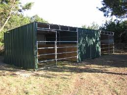 loafing shed kits oklahoma lonestar custom barns