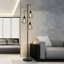 stehle wohnzimmer vintage stehleuchte industrial design