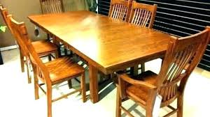 Craftsman Style Dining Room Table Mission Furniture