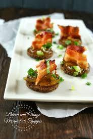 canapé ritchie authentic suburban gourmet bacon and orange marmalade canapés