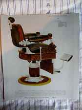 antique barber chairs ebay
