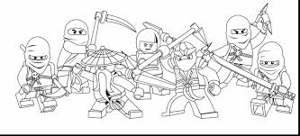 Astounding Lego Ninjago Coloring Pages With To