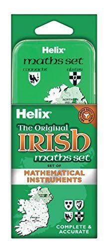 Helix Maths Set - Ireland Themed