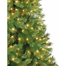 7ft Pre Lit Christmas Trees by Artificial Christmas Tree Pre Lit 7 5 U0027 Kennedy Fir Clear Lights