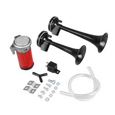 Zone Tech Air Horn Dual Trumpet Truck Train Car Kit With Compressor ... Tips On Where To Buy The Best Train Horn Kits Horns Information Truck Horn 12 And 24 Volt 2 Trumpet Air Loudest Kleinn 142db Air Compressor Kit230 Kit Kleinn Velo230 Fits 09 Hornblasters Hkc3228v Outlaw 228v Chrome 150db Air Horn Triple Tubes Loud Black For Car Universal 125db 12v Silver Trumpet Musical Dixie Duke Hazzard Trucks 155db 200psi Viair System Conductors Special How Install Bolton On A 2010 Silverado Ram1500230 Ram 1500 230 With 150psi Airchime K5 540