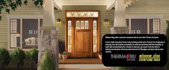 Therma Tru Patio Doors by Doors Page Window King Usa 228 596 7032 Window King Usa