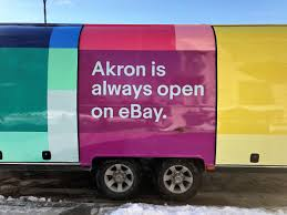 Akron Becomes The First City To Partner With EBay To Spur Local ... Ebay Find Of The Week 1981 Volkswagen Pickup Banned Food Truck Cockasian Up For Grabs On Eater Dodge Commercial Trucks Lovely 60 Power Wagon Shop Ebay 1950 Morris Austin Bmc Bedford Commer Cf2 Van Ebay Cf V8 Recovytransporter Uk Icarsoft Heavy Duty Hd I Diagnostic Tool Scan For Caterpillar Motors Stock Photos Images Alamy Volvo Puts First New Fh Up Sale Motor Racarsdirectcom Race Motorhome Transporter Now On Ebay No 1 Stop Accsories Stores Refrigerated For Sale New Car Models 2019 20 Tow Used On