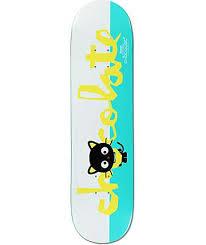 Zumiez Blank Skate Decks by Chocolate X Sanrio Roberts Chococat 8 0