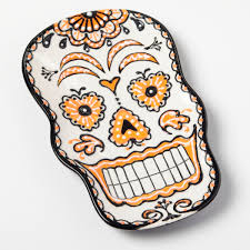 Easy Sugar Skull Day Of by Day Of The Dead Sugar Skull Dish Ilovetocreate