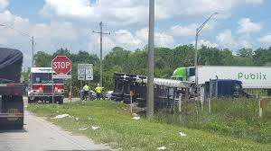 Crash Involving Semi Closes State Road 31 At Bermont Road Publix Truck Driver Saved Crash Victim In Miramar Canal Nbc 6 360 Video Truck Driver Honks Youtube Uncle D Logistics Publix Supermarkets W900 V10 Skin American Car Pinned Under On I295 Jacksonville Wjaxtv Common Vs Contract Carrier Apics Cltd Coach North Port Pulls Man From Sking Car 100_5222jpg How To Drive Semi Best Image Kusaboshicom Abducted Big Rig Carjacked Foo9
