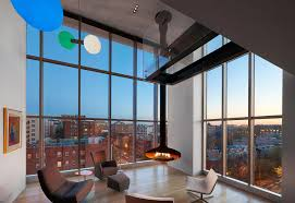 100 Penthouse Story With Large Double Height Space Anchored At The
