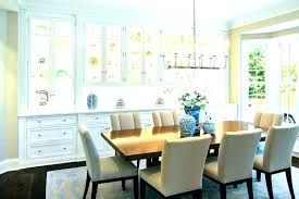 Contemporary Dining Room Cabinets Modern Built Corner