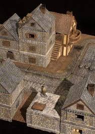 miniature terrain games tiles unpainted or beautifully hand painted