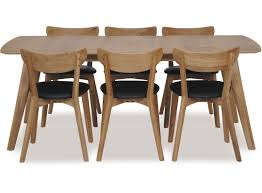Rho 1800 Large Extension Dining Table Pero Chairs X 6