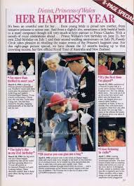Her Happiest Year Our Princess Diana News Article For January 29 2017
