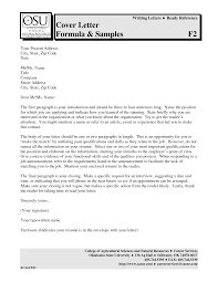 Free Cover Letter