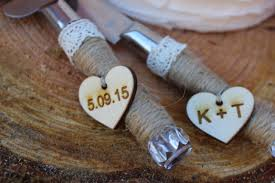 Wedding Cake Knife Rustic Decor