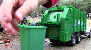 100 Garbage Trucks In Action Truck Videos For Children L L