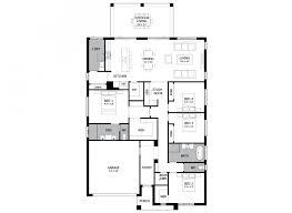 atrium single storey house design with 4 bedrooms mojo homes