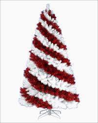 Pre Lit Flocked Artificial Christmas Trees by Christmas Pre Lit Flocked Christmas Tree New White Christmas