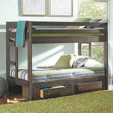 simple twin over full bunk bed with storage modern storage twin