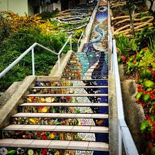16th Avenue Tiled Steps Project by Best Outdoor Spots San Francisco