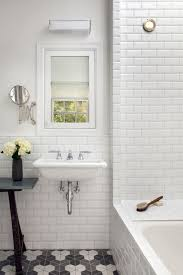 classic white beveled subway tile bathroom photos of kitchen