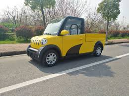 Outstanding Chinese 2 Seater Mini For Sale Electric Pickup Truck ...