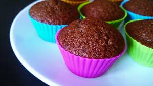 Muffin Baked Tasty Chocolate Cake Taking From Plate In 1920X1080 High Definition Footage
