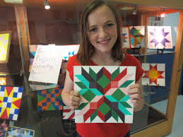 Rural Art Teaches Kids How To Do Geometry | WMRA And WEMC 22 Best Barn Quilts Images On Pinterest Quilt Designs Wooden Evening Tickets Fri Feb 17 2017 At 600 Pm Visit Southeast Nebraska 1479 Quilts Patterns 47 Quilt Trail Marshalls Art 4h Pierce County Laurel Lone Star Barn Ag Heritage Park Block 265 Painted Outside Art Jennifer Visscher Outdoor Series Southern Wisconsin Wnij And Wniu