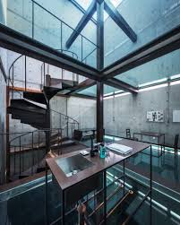 100 Glass Floors In Houses Gallery Of Vertical House Atelier FCJZ 1