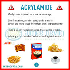 Food Ingredients To Watch Out For ACRYLAMIDE Learn More D Doug Aimeedevlin