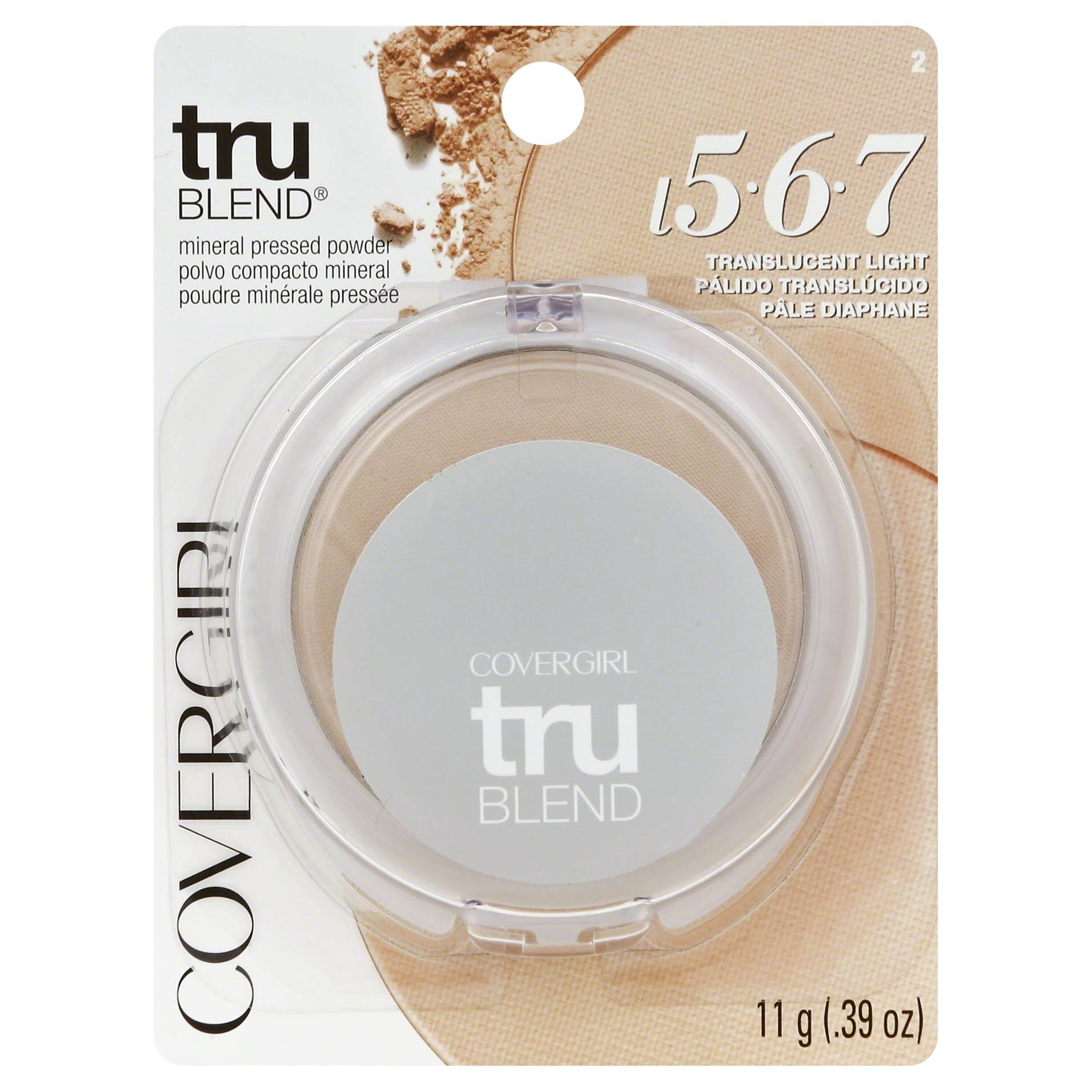 Covergirl Trublend Pressed Powder - Translucent Light 2