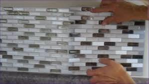 Peel And Stick Glass Subway Tile Backsplash by Furniture Marvelous Metallic Tiles Kitchen Backsplash Peel
